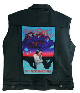 """Go Rocker - Sepultura - Schizophrenia 13.5"""" x 10.5"""" Color Backpatch"""