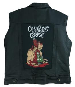 "Go Rocker - Cannabis Corpse 13.5"" x 10.5"" Color Backpatch"
