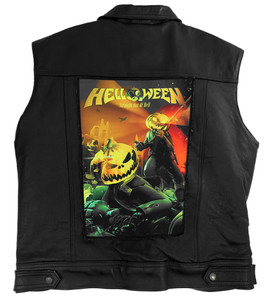 """Go Rocker - Helloween - Straight Out Of Hell 13.5"""" x 10.5"""" Color Backpatch"""