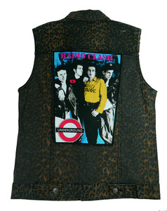 "Go Rocker - The Clash - Radio Clash 13.5"" x 10.5"" Color Backpatch"