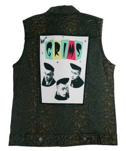 """Go Rocker - The Grims 13.5"""" x 10.5"""" Color Backpatch"""