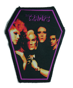 "Go Rocker - The Cramps 6.75x3.5"" Coffin Patch"