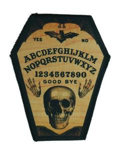 """Go Rocker - Ouija 6.75x3.5"""" Coffin Patch"""