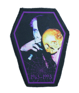 "Go Rocker - Rozz Williams 6.75x3.5"" Coffin Patch"