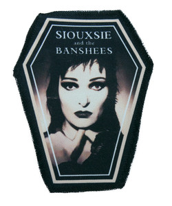 "Go Rocker - Siouxsie and the Banshees 6.75x3.5"" Coffin Patch"