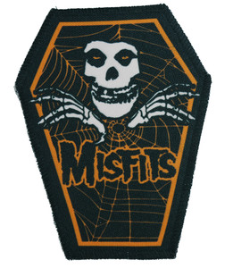 "Go Rocker - Misfits in Orange 6.75x3.5"" Coffin Patch"
