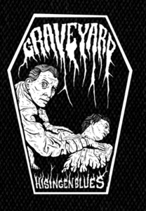 "Graveyard - Logo 6x4"" Printed Patch"