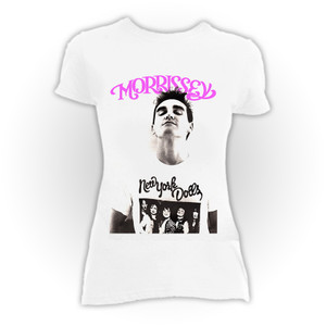 Morrissey - White Blouse T-Shirt