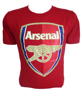 Arsenal Spotted Print T-Shirt