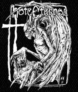 "Hate Eternal - Logo 5x6"" Printed Patch"