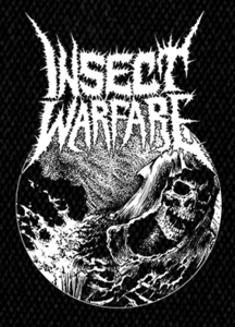 "Insect Warfare - Death Image - 5x6""  Printed Patch"