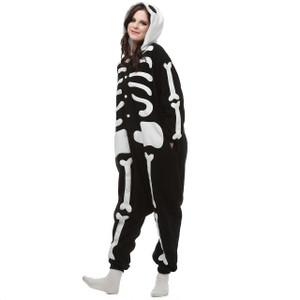Adult Size Skeleton Kigurumi Onesie