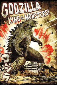 "Godzilla King of Monsters 24x36"" Poster"