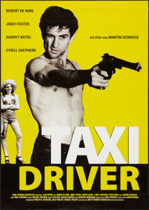 """Taxi Driver 24x36"""" Poster"""
