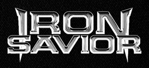 "Iron Savior - Logo 7x4"" Printed Patch"