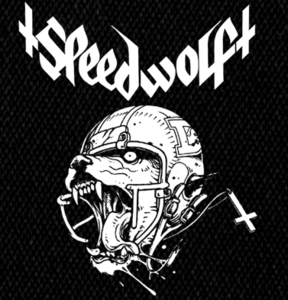 "Speedwolf - Wolf  6x5"" Printed Patch"