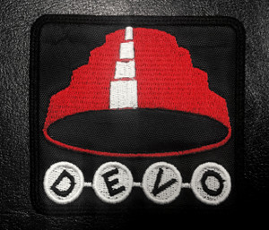 "Devo 3.5x2"" Embroidered Patch"