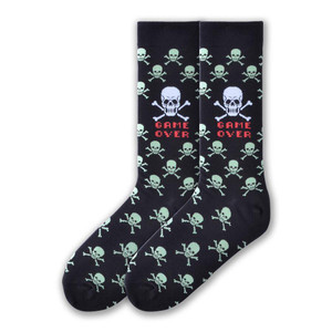 K. Bell - Game Over Crew Socks