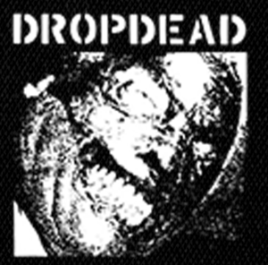"Dropdead - Logo 4x4"" Printed Patch"