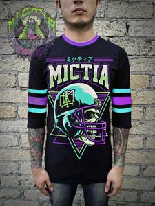 Mictia - Tzontecotl 3/4 Sleeve T-Shirt