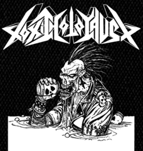 "Toxic Holocaust - Alcoholocaust 4x5"" Printed Patch"