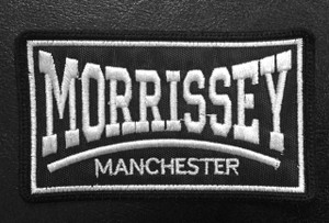 "Morrissey - Manchester 4x2.5"" Embroidered Patch"