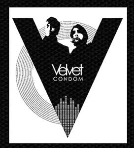 "Velvet Condom - Band 4x5"" Printed Patch"