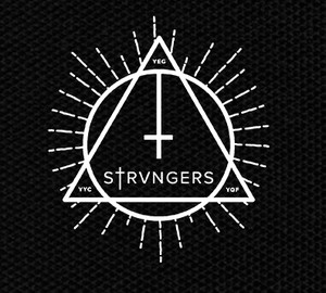 "Strvngers - Logo 3x4"" Printed Patch"