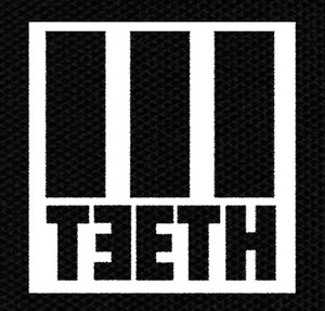 "Teeth - Logo 4x5"" Printed Patch"