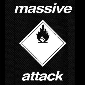 "Massive Attack - Logo 4x5"" Printed Patch"
