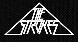 "The Strokes - Triangle Logo 6x3"" Printed Patch"