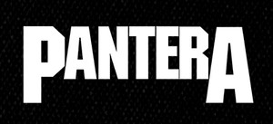 "Pantera - Logo 5x3.5"" Printed Patch"