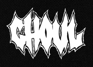 "Ghoul - Logo 4x3"" Printed Patch"