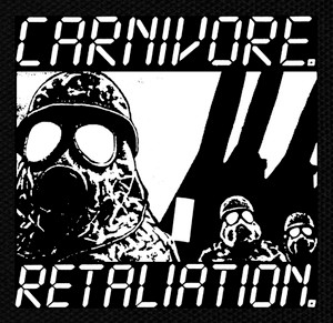 "Carnivore - Retaliation 5x5"" Printed Patch"