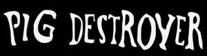 """Pig Destroyer - Logo 5.5x1.5"""" Printed Sticker"""