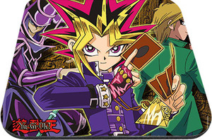 "Yu-Gi-Oh! - Yugi Joey and Dark Magician 9x7"" Mousepad"