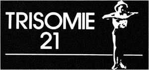 """Trisomie 21 - Logo 6x4"""" Printed Patch"""