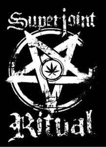 "Super Joint Ritual - Pentagram 5.5x4"" Printed Sticker"