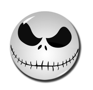"Jack Skellington 1.5"" Pin"