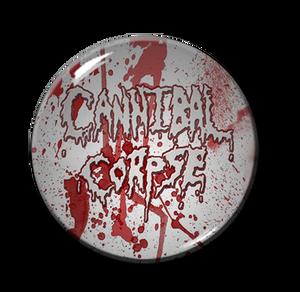 "Cannibal Corpse - Blood Splatter 1.5"" Pin"