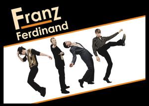 """Franz Ferdinand 5x3.5"""" Color Patch"""