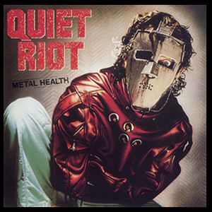 "Quiet Riot - Mental Health 4x4"" Color Patch"