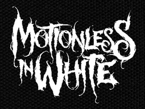 "Motionless in White - Logo 6x5"" Printed Patch"