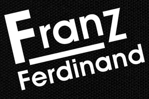 "Franz Ferdinand Logo 5x4"" Printed Patch"