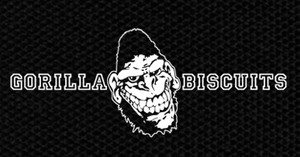 "Gorilla Biscuits - Logo 5x3"" Printed Patch"