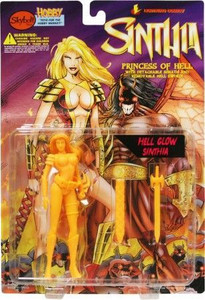 Sinthia - Princess of Hell with Hell Glow Action Figure