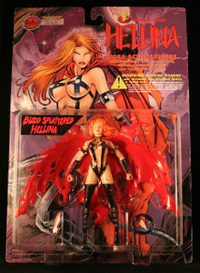Hellina With Blood Splattered Mega Action Figure