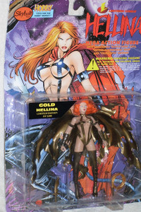 Hellina Gold Limited Edition Mega Action Figure