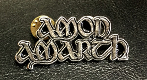 "Amon Amarth - Logo 2"" Metal Badge Pin"