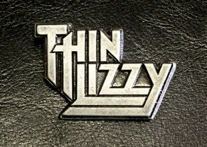 "Thin Lizzy - Logo 2"" Metal Badge Pin"